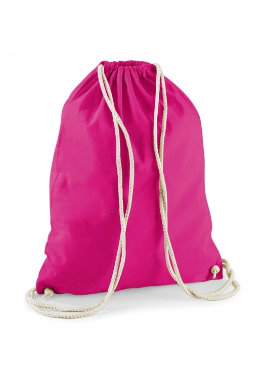 Cotton Gymsac_fuchsia