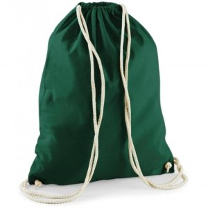 Cotton Gymsac_bottle-green